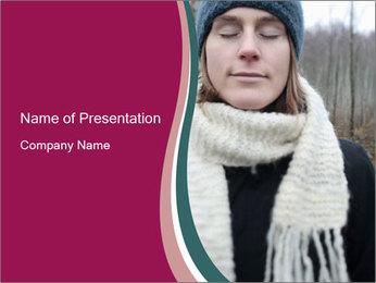 Scandinavian Winter Fashion PowerPoint Template