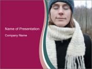 Scandinavian Winter Fashion PowerPoint Templates