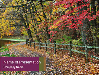 Colorful Autumn PowerPoint Template