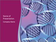 Molecular Chains PowerPoint Templates