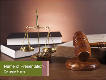 Justice PowerPoint Template