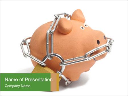 piggy bank powerpoint template smiletemplates com