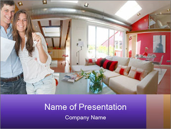 Family Property PowerPoint Template
