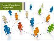Clients Network Modèles des présentations  PowerPoint