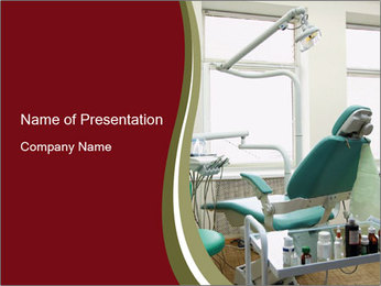 Dental Cabinet PowerPoint Template