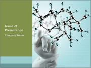 Molecular Chain Modèles des présentations  PowerPoint