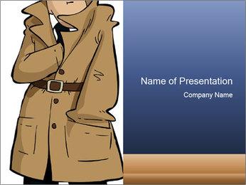 Secret Agent PowerPoint Template