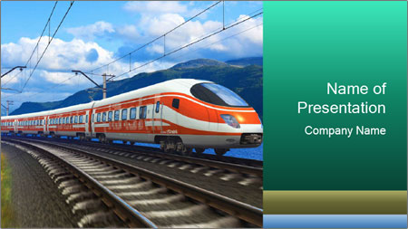 modern train powerpoint template backgrounds google slides id