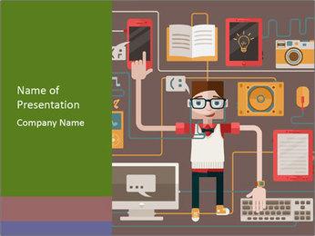 Educational Gadgets Modèles des présentations  PowerPoint