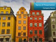 Traditional Houses in Sweden PowerPoint Templates