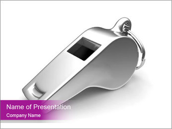 Whistle PowerPoint Template