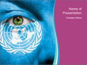 Symbol of United Nations PowerPoint Templates