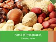 Organic Nuts PowerPoint Template
