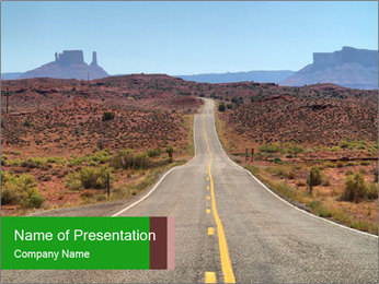 Long Road PowerPoint Template