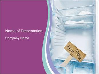 Empty Fridge PowerPoint Template