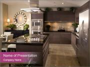 Steel powerpoint template smiletemplates kitchen interior design powerpoint template toneelgroepblik Images
