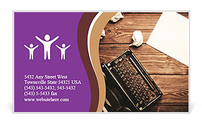 0000037224 Business Card Template