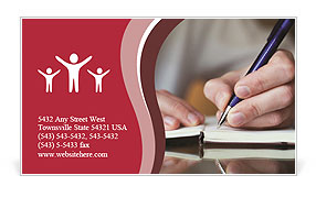 0000038335 Business Card Template