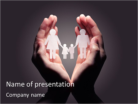 Protect Family Powerpoint Template Backgrounds Google Slides Id
