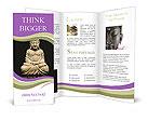 Buddha Statue Brochure Template