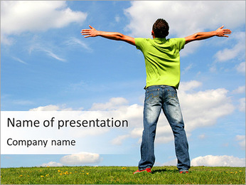 Embrace The World PowerPoint Template