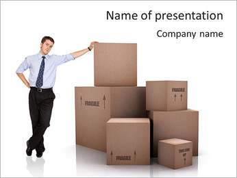 Office Removal PowerPoint Template