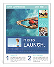Professional Swimmer Flyer Templates