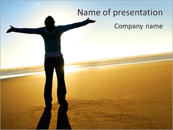 Total Freedom PowerPoint Template