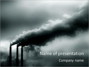 Poluição Indústria Modelos de apresentações PowerPoint