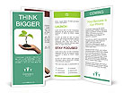 Plant In Human Hand Brochure Templates