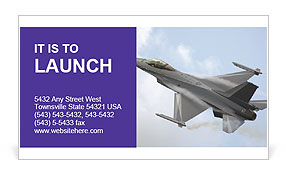 Air Force Business Card Template