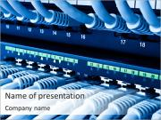 Computer Server PowerPoint Templates
