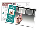 Innovative Technology Postcard Template