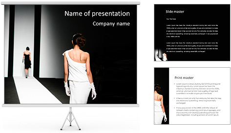 free fashion powerpoint templates. free woman powerpoint templates, Templates