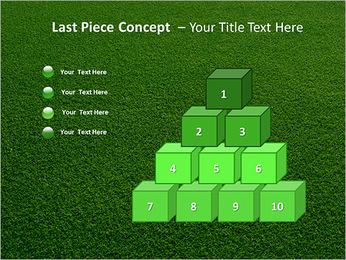 Herbe Surface Modèles des présentations  PowerPoint - Diapositives 11