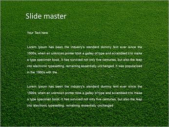 Herbe Surface Modèles des présentations  PowerPoint - Diapositives 2