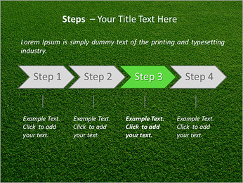 Herbe Surface Modèles des présentations  PowerPoint - Diapositives 4