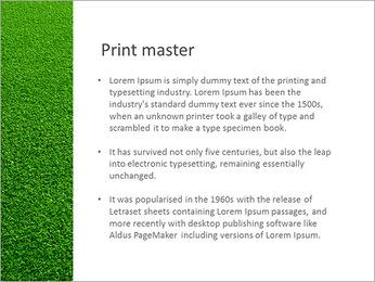 Herbe Surface Modèles des présentations  PowerPoint - Diapositives 76