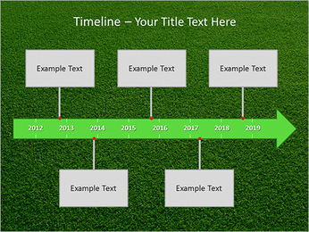 Herbe Surface Modèles des présentations  PowerPoint - Diapositives 8