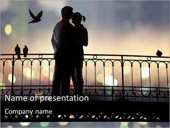 Romantic Trip PowerPoint Template
