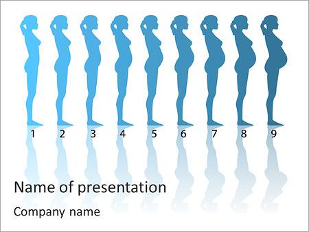 Nine months of pregnancy powerpoint template backgrounds google nine months of pregnancy powerpoint template toneelgroepblik Images