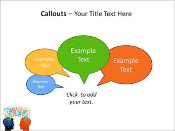 La comunicación vía red social Plantillas de Presentaciones PowerPoint - Diapositiva 53
