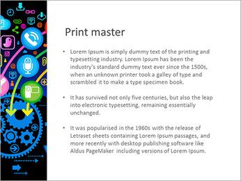La comunicación vía red social Plantillas de Presentaciones PowerPoint - Diapositiva 76
