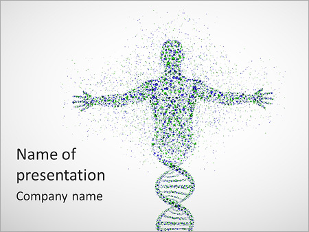 DNA Test PowerPoint Template, Backgrounds & Google Slides - ID ...