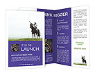 Knight On The Horse Brochure Templates