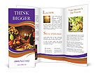 Homelike Countryside Dinner Brochure Templates