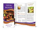 Homelike Countryside Dinner Brochure Templates