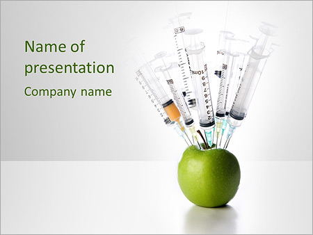 Dangerous Nitrate Apple Powerpoint Template Backgrounds Google