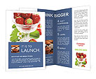 Juicy Strawberry Brochure Templates