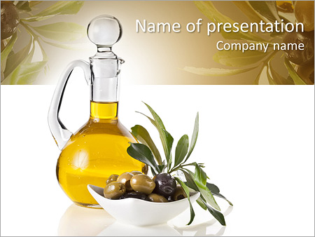 Oil powerpoint template smiletemplates olive oil powerpoint template toneelgroepblik Gallery